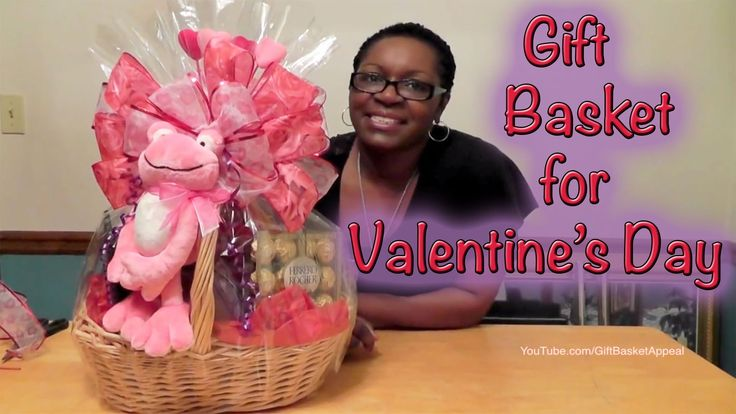 Gift Basket Instructions - How to Make a Valentine's Day Gift Basket - G...  #tutorial #diy