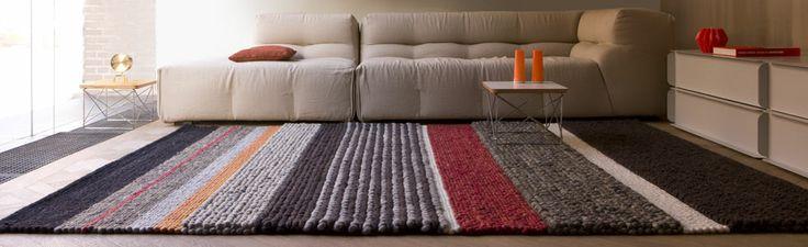 Wollen karpet structurenmix  www.van-zeben.nl