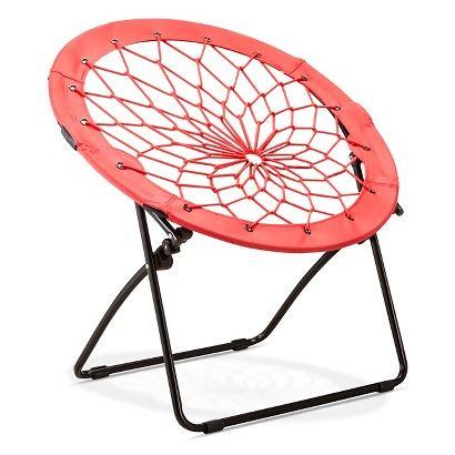 Bungee Chair - One at Academy is red outside with grey in middle and black frame $30. Now thinking it's too red instead of burgundy-ish.
