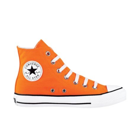 Shop for Converse All Star Hi Athletic Shoe in Neon Orange at Journeys Shoes. Shop today for the hottest brands in mens shoes and womens shoes at Journeys.com.The original Old School athletic shoe is still cool. Some things dont change because they dont need to. Canvas upper. Available exclusively at Journeys!Please note that this shoe runs a half size large.