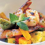 shrimp, tropical fruit and avocado... yum: Salad Recipes, Seafood, Sea Food, Photo, Gf Recipes, Favorite Recipes, Recipes Yum, Dessert, Lovely Foods