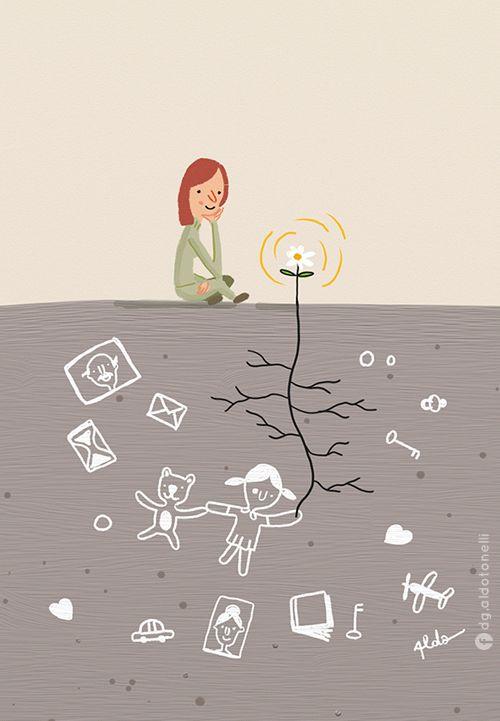 Aldo Tonelli / Ilustraciones: Kafka y la muñeca - Ilustración