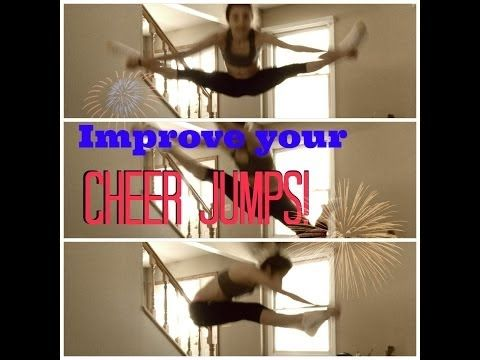 How To Improve Your Cheer Jumps - YouTube
