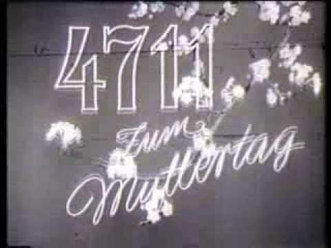 """TV Spot 1961 """"Muttertag"""" -- 4711 Echt Kölnisch Wasser - YouTube"""