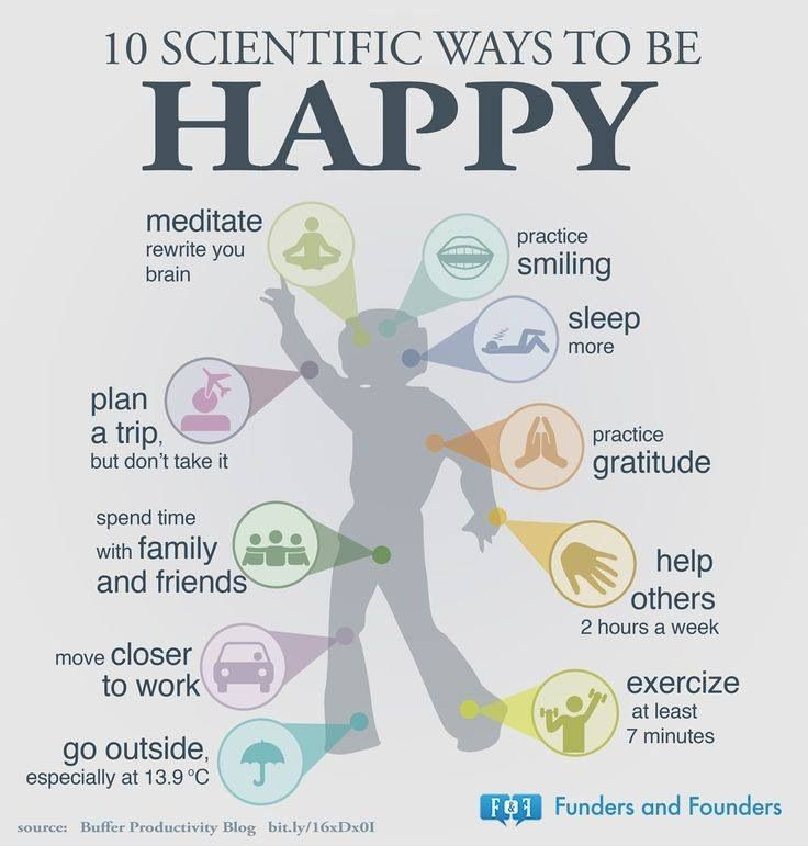Easy ways to increase happiness