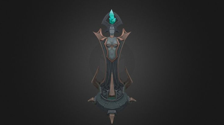 League of Legends‎ turret Riot Art Contest 2014