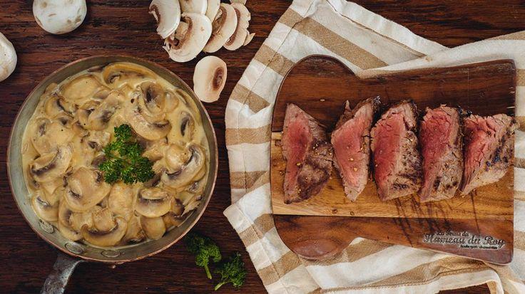 Steak met champignonroomsaus   VTM Koken