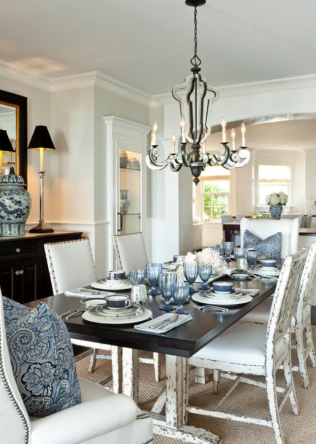 Top 25 Best Coastal Dining Rooms Ideas On Pinterest