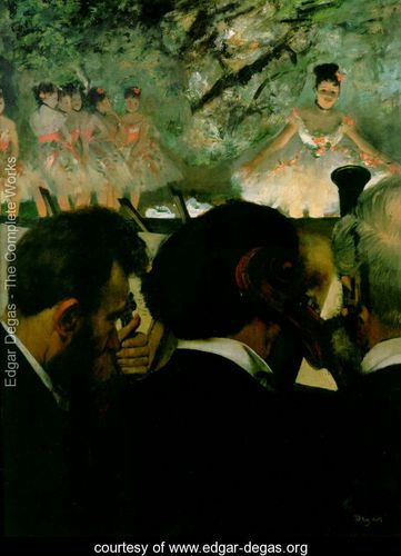 Orchestra Musicians - Edgar Degas - www.edgar-degas.org