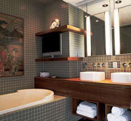 neat bathroom decorating ideas for men