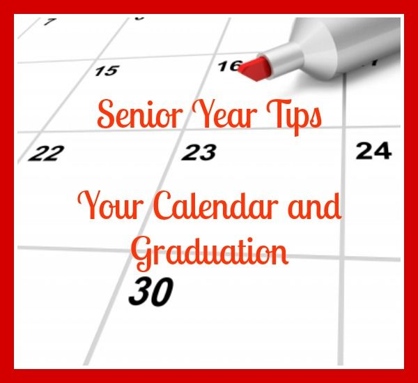 Calling all parents with a high school Junior ~ its time to start planning!  Senior Year Tips ~ Your Calendar and Graduation #highschool #graduation