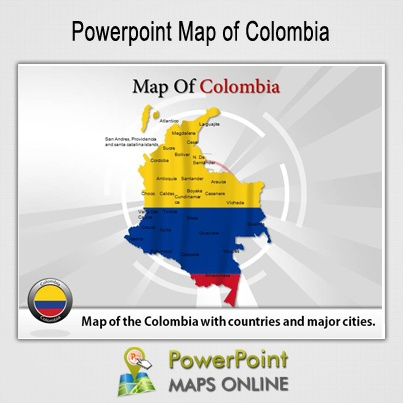 22 best new ppt maps templates images on pinterest cards maps and the name colombia is derived from the name christopher columbus colombia is the home country for gumiabroncs Gallery