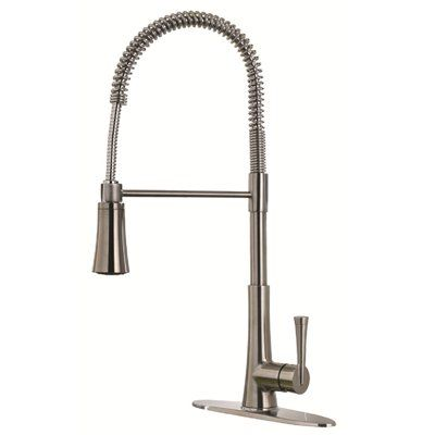 Pfister F 529 9MD Mystique Commercial Pull Down Spring Kitchen Faucet