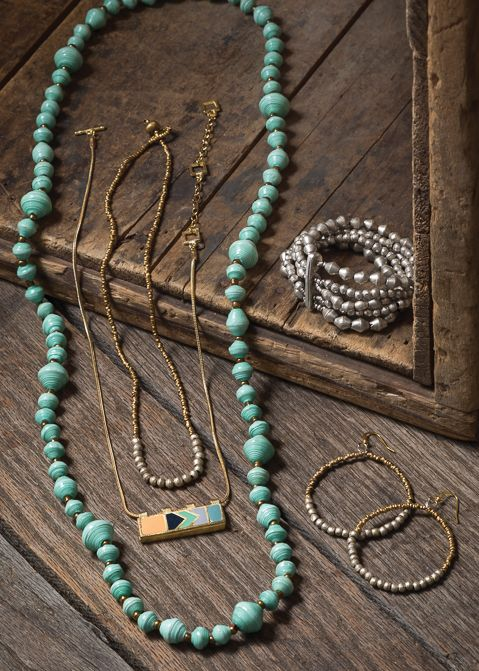 Minted Necklace - Noonday Collection