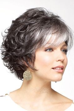 hairstyles for women over 50 with gray hair   Gray Hair: Photos of ...