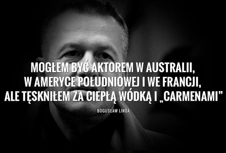 Bogusław Linda o tęsknocie za Polską - Gazeta.pl