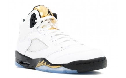 womens authentic authentic air jordan 5 gs olympic gold retro 2016