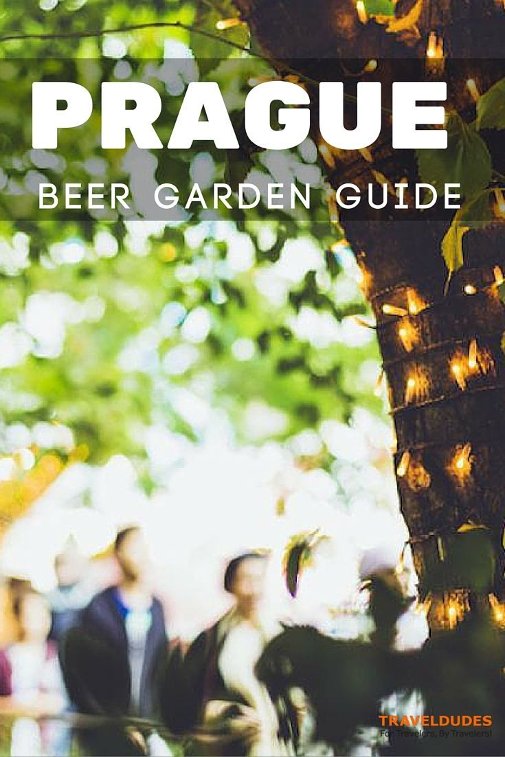 The Beer Garden Guide to Prague - Being a beer aficionado is basically the Czech national sport—they take their hops, brews, and foam very seriously | TravelDudes Social Travel Blog & Community: