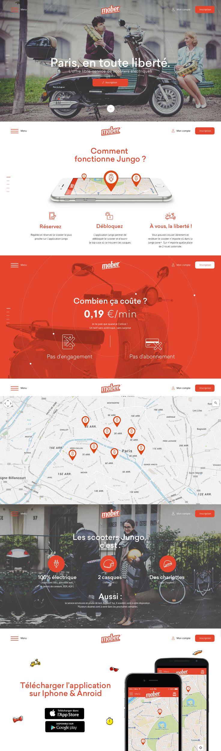 Mober homepage