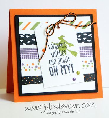 93 best SU Spooky Fun images on Pinterest | Halloween cards ...