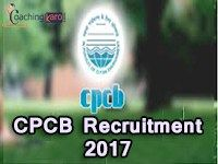 CPCB Recruitment 2017 | 08 Law Officer, Assistant Vacancies | Central Pollution Control Board | 22.01.2017 Closed Date | Download Application Form