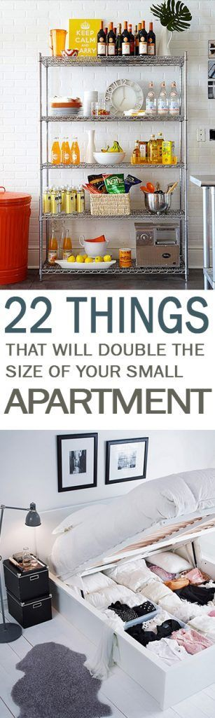 22 Things That Will Double the Size of Your Small Apartment - 101 Days of Organization
