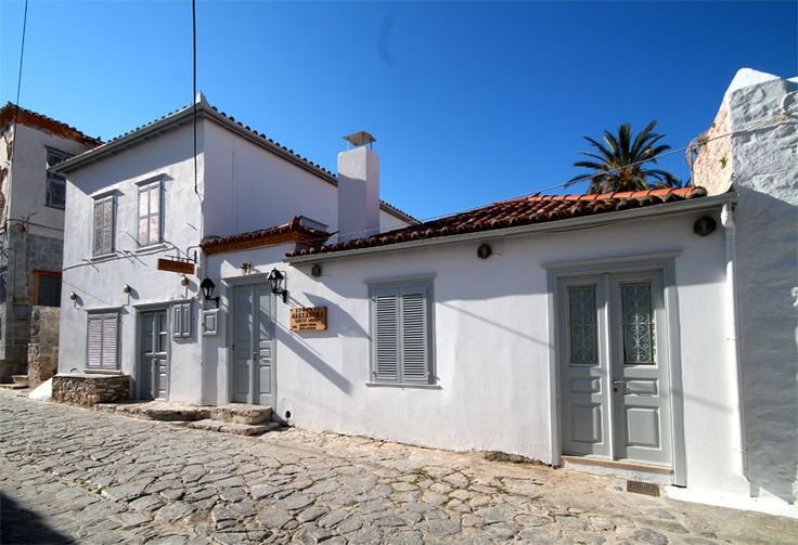 Alexandra Guest House in a quiet area of Hydra town but very easy walking distance from Hydra port with no steps to climb. 8 rooms all en-suite with air-conditioning set around private courtyard offering comfortable Hydra accommodation.