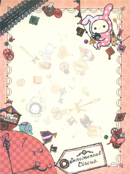 sentimental circus alice in wonderland memo pad picture - Recherche Google