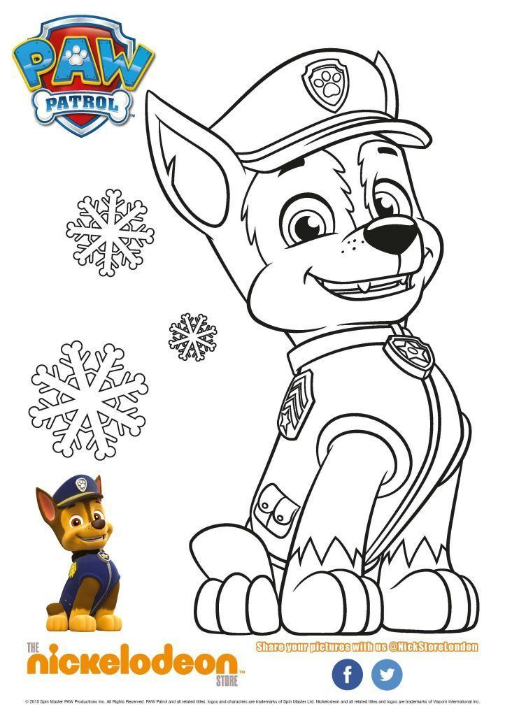 Mighty Pups Skye In Tornado Dessin A Colorier | Coloriage ...