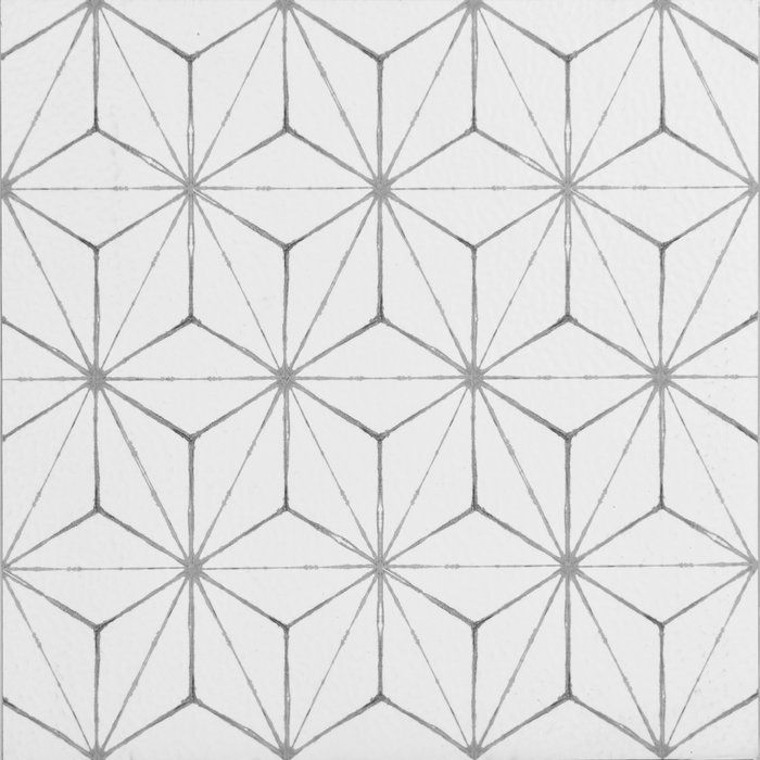 Kikko 12 X 12 Vinyl Tile In White Peel And Stick Floor Adhesive Floor Tiles Floor Decal