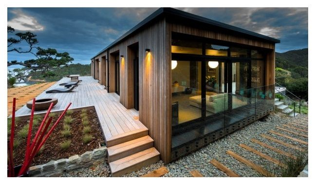 Fraser House, Moureeses Bay by Darren O'Neil, O'Neil Architecture.