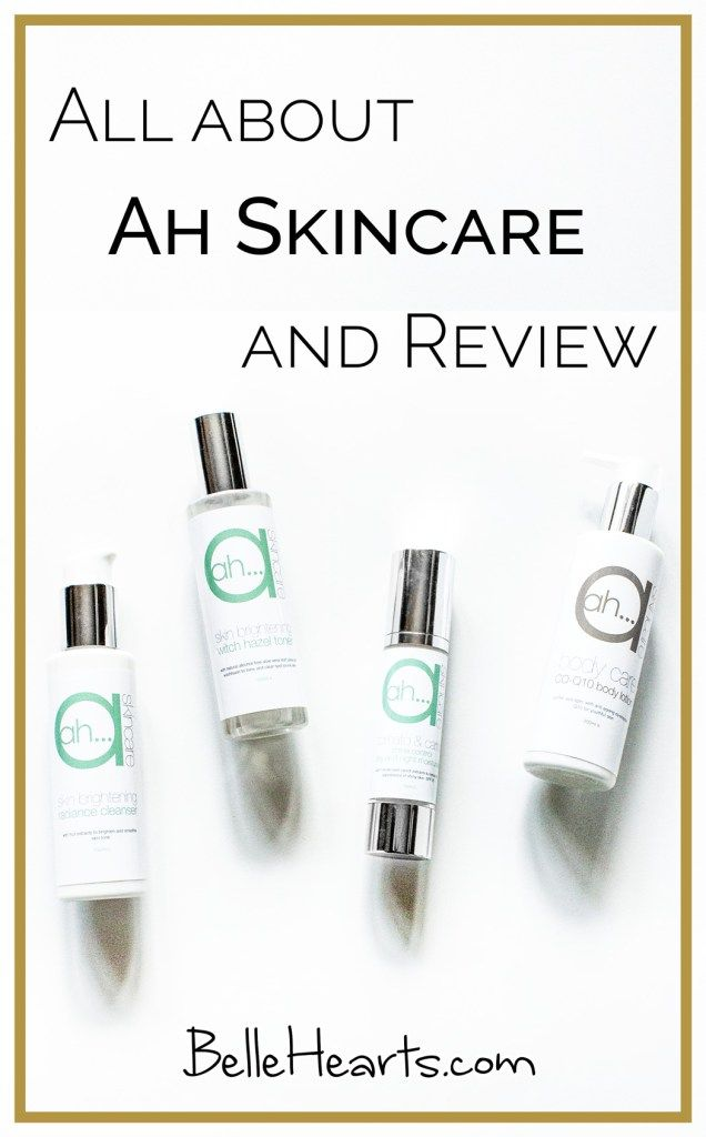 Ah Skincare Review Post