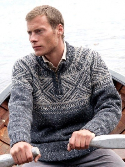 Knit Irish sweater