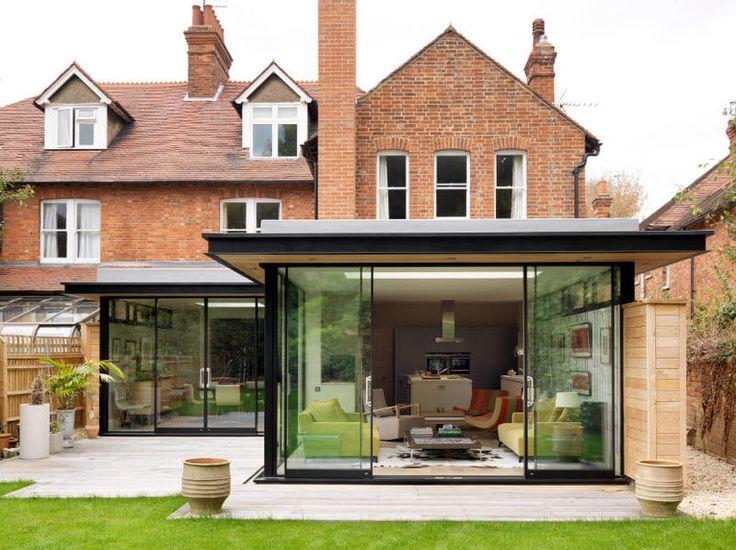 Пристройка к дому - учимся стилю у англичан
