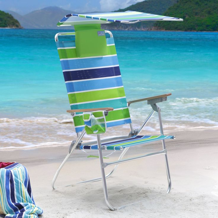 rio high boy beach chair x rocker gaming cords canopy kelsyus recline backpack with uv ultra hi swell