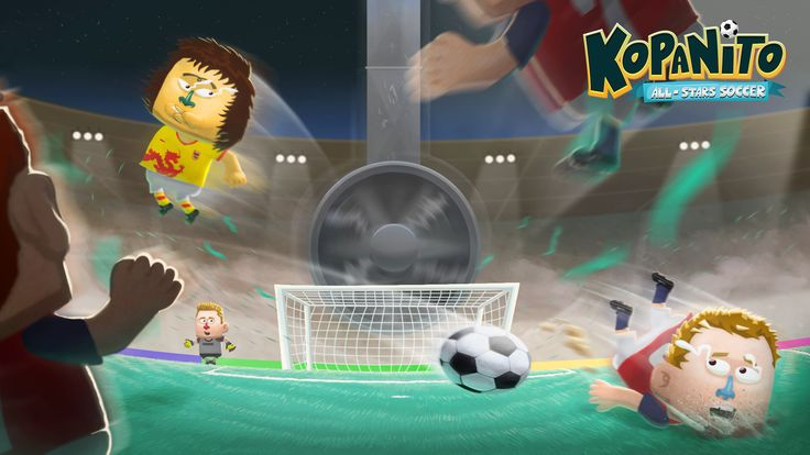 Strange things could happen when playing #Kopanito All-Stars #Soccer Check it out! #football #game #indie #html5 #merixstudio