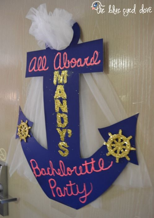 Nautical-Inspired Bachelorette Party - The Blue Eyed Dove