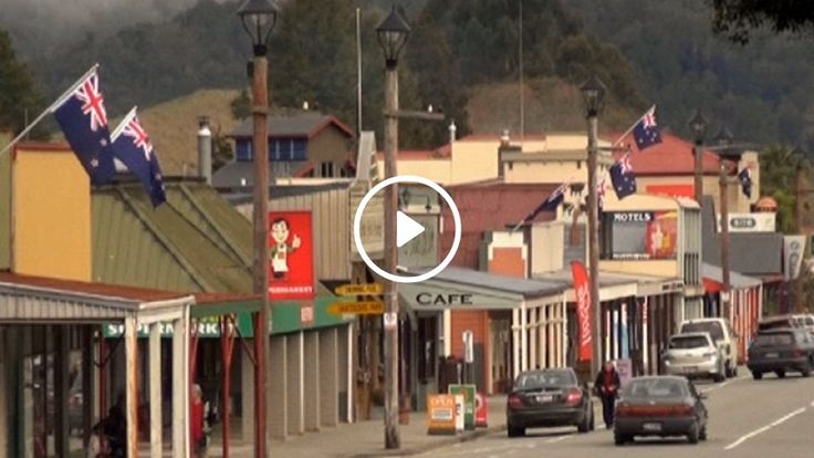 Reefton, a town of just 1000 people, is displaying the country's national symbol proudly.