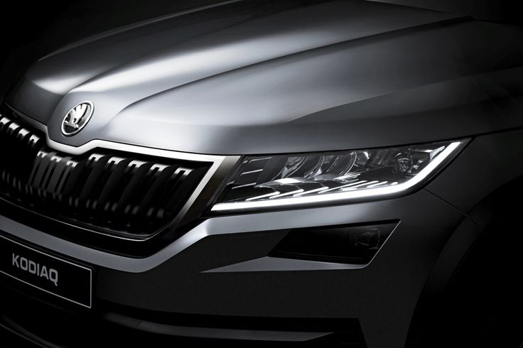 Skoda Kodiaq undisguised teasers released