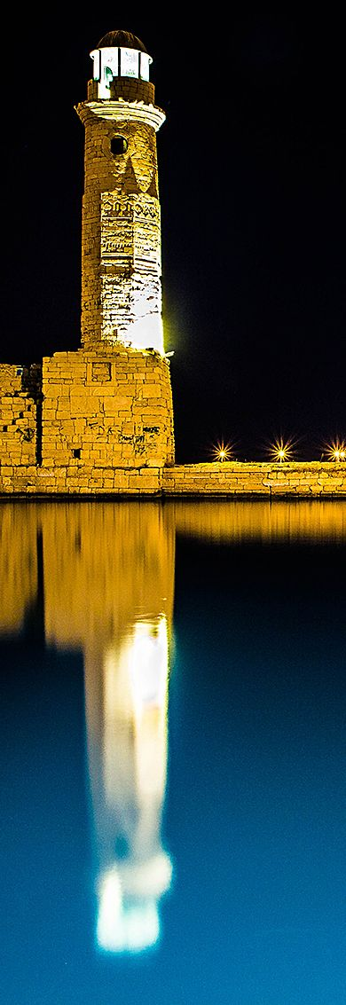 Lighthouse in Rethymno, Crete - by WeFilms