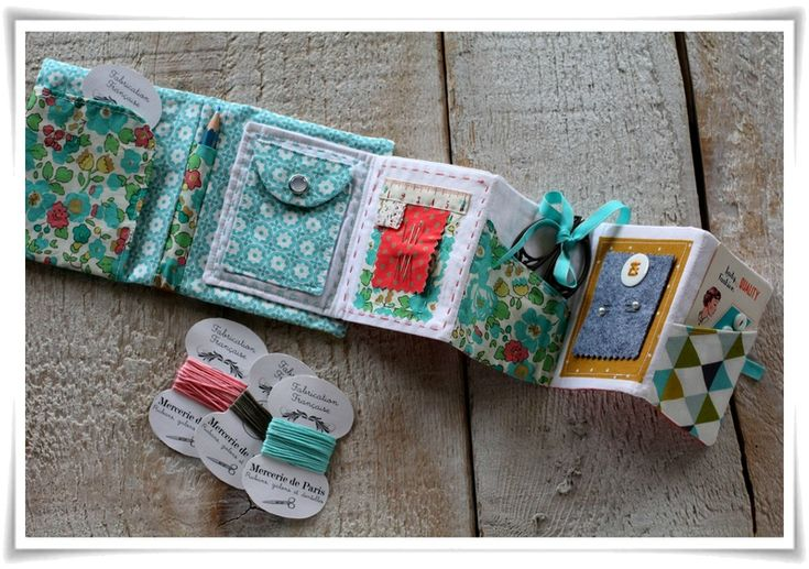 Micro kit de couture, pour ton sac ?