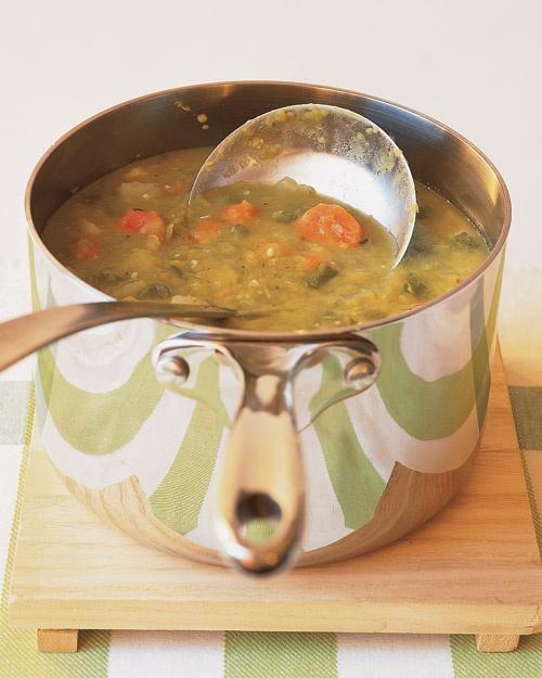 Vegetarian Split-pea soup
