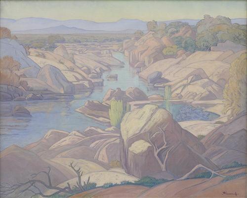 Saleti River / Pierneef, JH