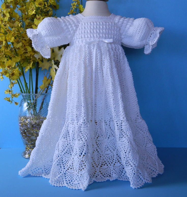 1000 Images About Crochet Lace Amp Knitted Baby Christening