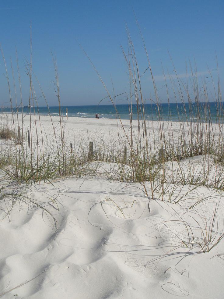 Orange Beach, Alabama.  Near Gulf Shores, Alabama.  The sugar white sands here are unrivaled outside Alabama and Florida.