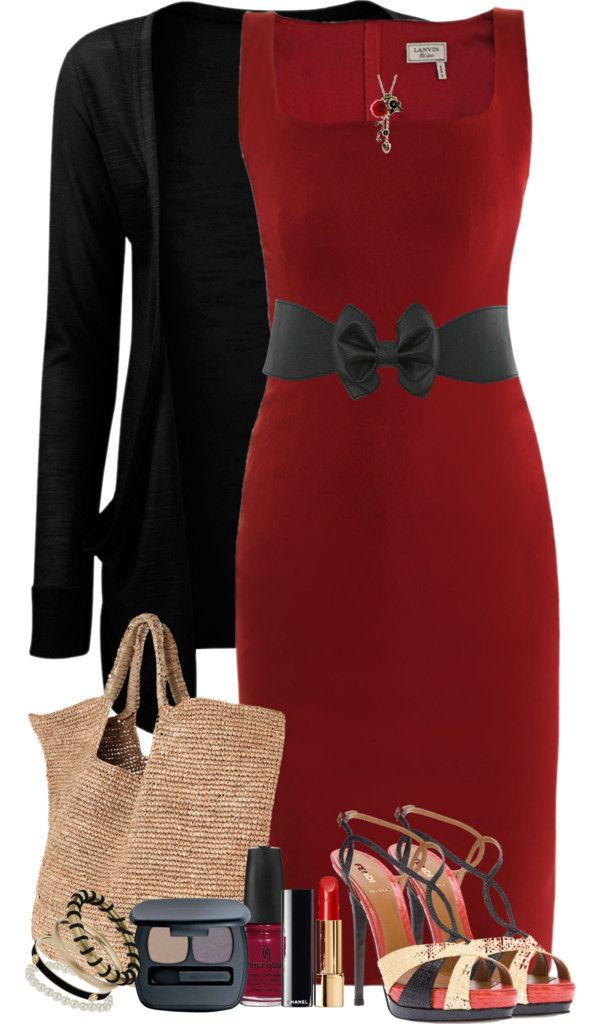 """""""The Red Dress"""" by lmm2nd on Polyvore"""