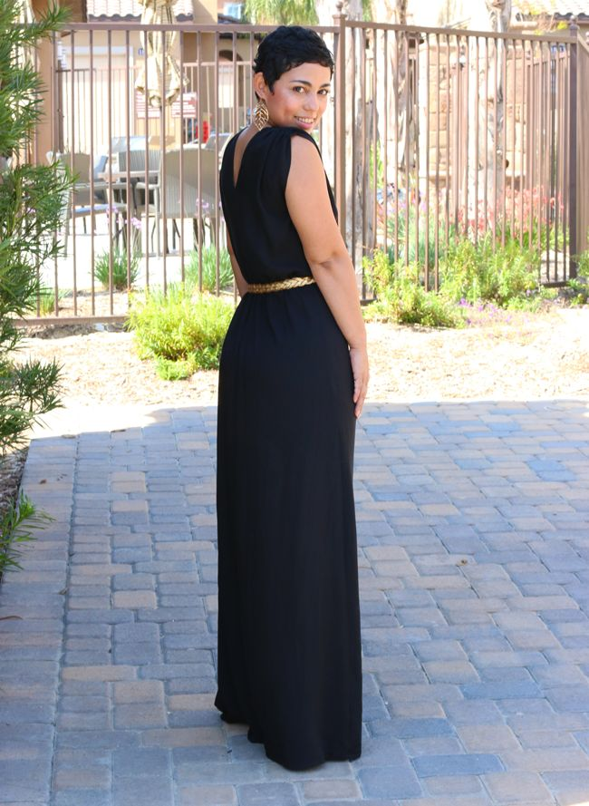 Diy maxi dress tutorial