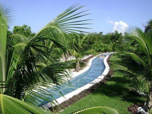 2013! Grand Sirenis Riviera Maya Resort Lazy River, Cancun, Mexico