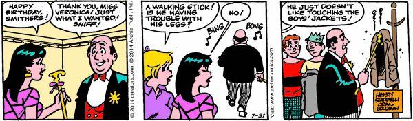 Archie Cartoon for Jul/31/2014