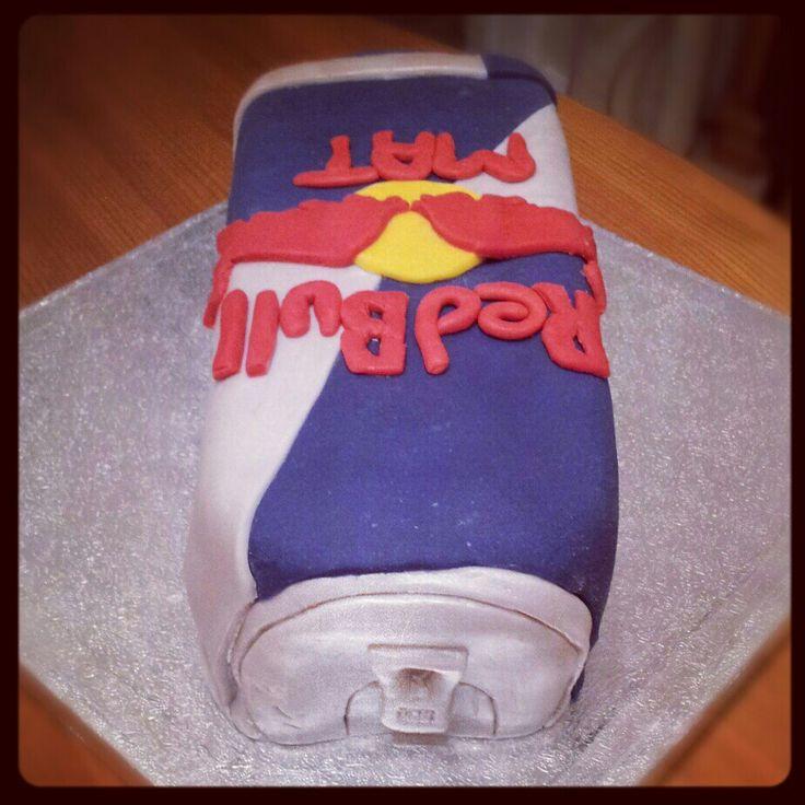 #Redbull cake #bbdoescakes